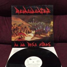 Discos de vinilo: REINCIDENTES - NI UN PASO ATRÁS LP, 1991, ESPAÑA, EDICIÓN DIFÍCIL. Lote 187389520