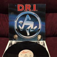 Discos de vinilo: DIRTY ROTTEN IMBECILES - CROSSOVER LP, 1987, EUROPA. Lote 187396622