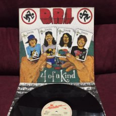Discos de vinilo: DIRTY ROTTEN IMBECILES - 4 OF A KIND LP, 1988, HOLANDA. Lote 187396815
