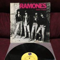 Discos de vinilo: RAMONES - ROCKET TO RUSSIA LP, REEDICIÓN, USA. Lote 187397723