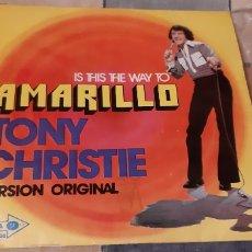 Discos de vinilo: TONY CHRISTIE. AMARILLO. MCA. DISCO AMARILLO---. Lote 187398400