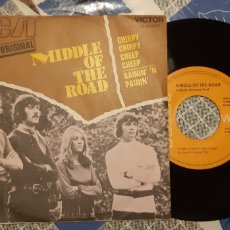 Discos de vinilo: MIDDLE OF THE ROAD. CHIRPY, CHIRPY CHEEP CHEEP....RCA VICTOR---. Lote 187398975