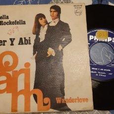 Discos de vinilo: ESTHER Y ABI OFARIM. VINDARELLA-ROCKELLA. WANDERLOVE. PHILIPS. ESPAÑA.. Lote 187399533