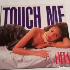Discos de vinilo: 49ERS - TOUCH ME - 1989. Lote 187408495