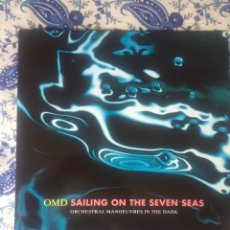Discos de vinilo: OMD SEALING ON THE SEVENS SEAS. Lote 187409048