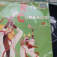 Discos de vinilo: EP ( VINILO) RITMOS CUBANOS AÑOS 50. Lote 187411905