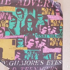 Discos de vinilo: THE ADVERTS-GARY GILMORES EYES-1977-ANC 1043,MADE IN U.K.. Lote 187413515