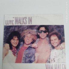 Discos de vinilo: VAN HALEN LOVE WALKS IN / SUMMER NIGHTS ( 1986 WARNER BROS ESPAÑA ) SAMMY HAGAR. Lote 187416247