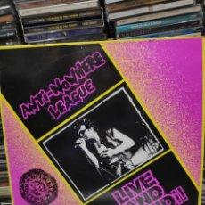 Discos de vinilo: ANTI NOWHERE LEAGUE LIVE AND LOUD. Lote 187416406