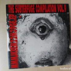 Discos de vinilo: SUBTERFUGE COMPILATION VOL.9/SERIE FANZINE+EP 4 TEMAS INEDITOS/MINT(YELLOW FINN/LOS CANADIENSES/...). Lote 187416772