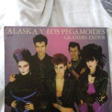 Discos de vinilo: ALASKA Y LOS PEGAMOIDES GRANDES EXITOS MOVIDA. Lote 187417340