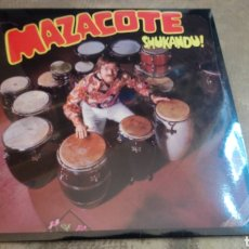 Discos de vinilo: MAZACOTE–SHUKANDU . LP VINILO PRECINTADO - LATIN SOUL. Lote 187418338