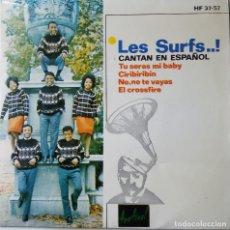 Discos de vinilo: LES SURFS…! CANTAN EN ESPAÑOL TU SERÁS MY BABY. Lote 187420840