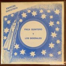 """Discos de vinilo: PACA QUINTERO Y LOS SIDERALES AUDIO VIDEO EP MUY RARO 1977 TREMENDO GARAGE BEAT """"SON DE TAMBOR"""". Lote 187426168"""