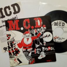 Disques de vinyle: SINGLE: M.C.D. (FELIZ NAVIDAD!) - PAPA NOEL + 25 DE DICIEMBRE (BASATI DISKAK, 1989) MCD - PUNK ROCK. Lote 187426700