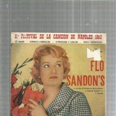 Discos de vinilo: FLO SANDON MMANE. Lote 187427337