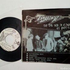 Discos de vinilo: TXORROMORRO - SE OS VA A CAER EL PELO EP (BASATI DISKAK, 1989) - PUNK ROCK - RRV -. Lote 187427847