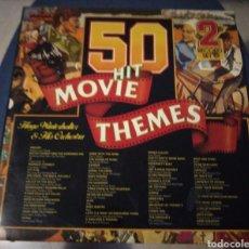 Discos de vinilo: HUGO WINTERHALTER & HIS ORCHESTRA - 50 HIT MOVIE THEMES. 2 LP. Lote 187431273