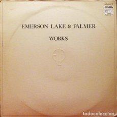 Discos de vinilo: EMERSON, LAKE & PALMER – WORKS VOLUME 2 . Lote 187433035