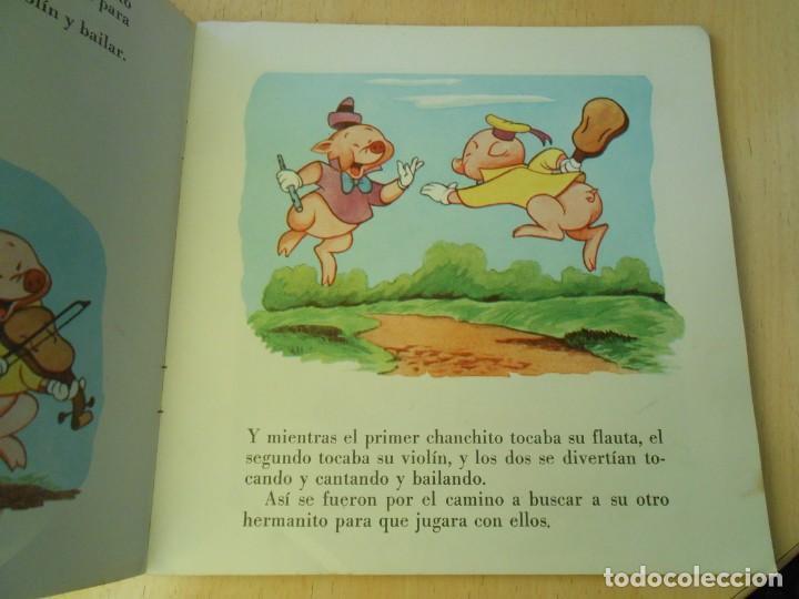 Discos de vinilo: WALT DISNEY - LOS TRES CERDITOS -, EP, CUENTO EN CASTELLANO + 1, AÑO 1967 - Foto 3 - 187437312