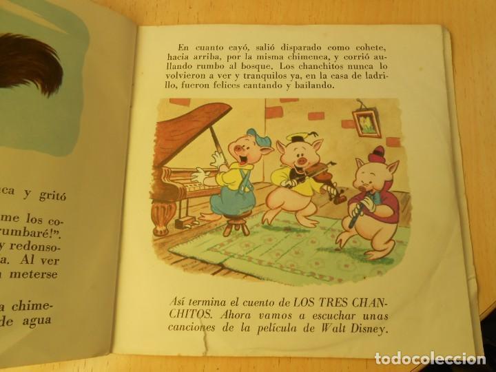 Discos de vinilo: WALT DISNEY - LOS TRES CERDITOS -, EP, CUENTO EN CASTELLANO + 1, AÑO 1967 - Foto 8 - 187437312
