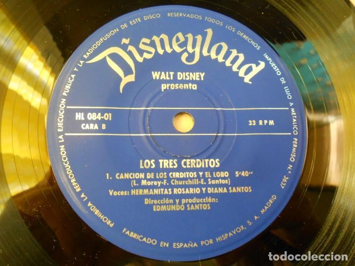 Discos de vinilo: WALT DISNEY - LOS TRES CERDITOS -, EP, CUENTO EN CASTELLANO + 1, AÑO 1967 - Foto 12 - 187437312
