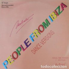Discos de vinilo: MALVAHO ‎– PEOPLE FROM IBIZA . Lote 187441313