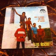 Disques de vinyle: SINGLE / EP. LOS RISCOS. AMOR EN CANARIAS. UNA CARTA. ALGO NUEVO. ME CONVENCÍ. ESPAÑA, 1971. Lote 187442298