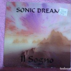 Discos de vinilo: SONIC DREAM,IL SOGNO EDICION ITALIANA DEL 95. Lote 187445733