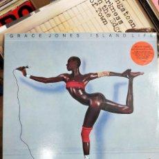 Discos de vinilo: GRACE JONES ISLAND LIFE LP 1985 ISLAND GATEFOLD ESPAÑA. VINILO COMO NUEVO (MINT). Lote 187447453