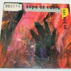 Discos de vinilo: SOPA DE CABRA - BEN ENDINS - ROCK CATALÀ - 1991 - SALSETA DISCOS. Lote 187449481