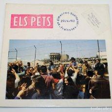 Discos de vinilo: ELS PETS - UN DIMECRES QUALSEVOL - FRUITSEX - ROCK CATALÀ - 1992 - DISCMEDI BLAU. Lote 187449837