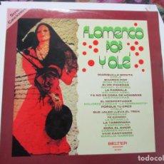 Discos de vinilo: FLAMENCO POP OLE. LP BELTER. Lote 187450031