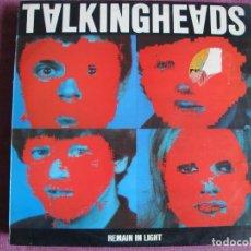 Discos de vinilo: LP - TALKING HEADS - REMAIN IN LIGHT (SPAIN, SIRE RECORDS 1980). Lote 187450097