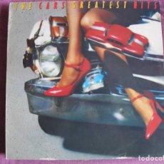 Discos de vinilo: LP - THE CARS - GREATEST HITS (SPAIN, ELEKTRA RECORDS 1985). Lote 187450266