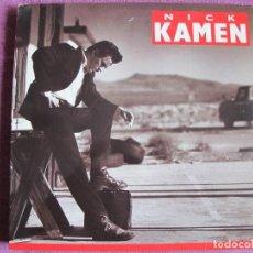 Discos de vinilo: LP - NICK KAMEN - US (SPAIN, WEA RECORDS 1988). Lote 187450408