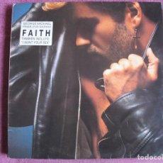 Discos de vinilo: LP - GEORGE MICHAEL - FAITH (SPAIN, EPIC RECORDS 1987). Lote 187450471