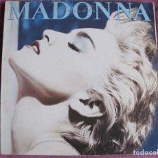 Discos de vinilo: LP - MADONNA - TRUE BLUE (SPAIN, SIRE RECORDS 1986). Lote 187450683