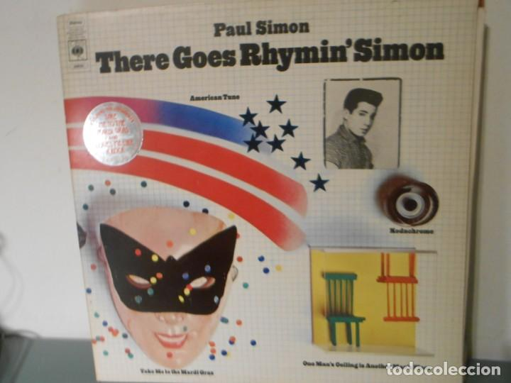 PAUL SIMON - THERE GOES RHYMIN' SIMON (Música - Discos - LP Vinilo - Pop - Rock - Extranjero de los 70)