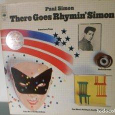 Discos de vinilo: PAUL SIMON - THERE GOES RHYMIN' SIMON. Lote 187452581