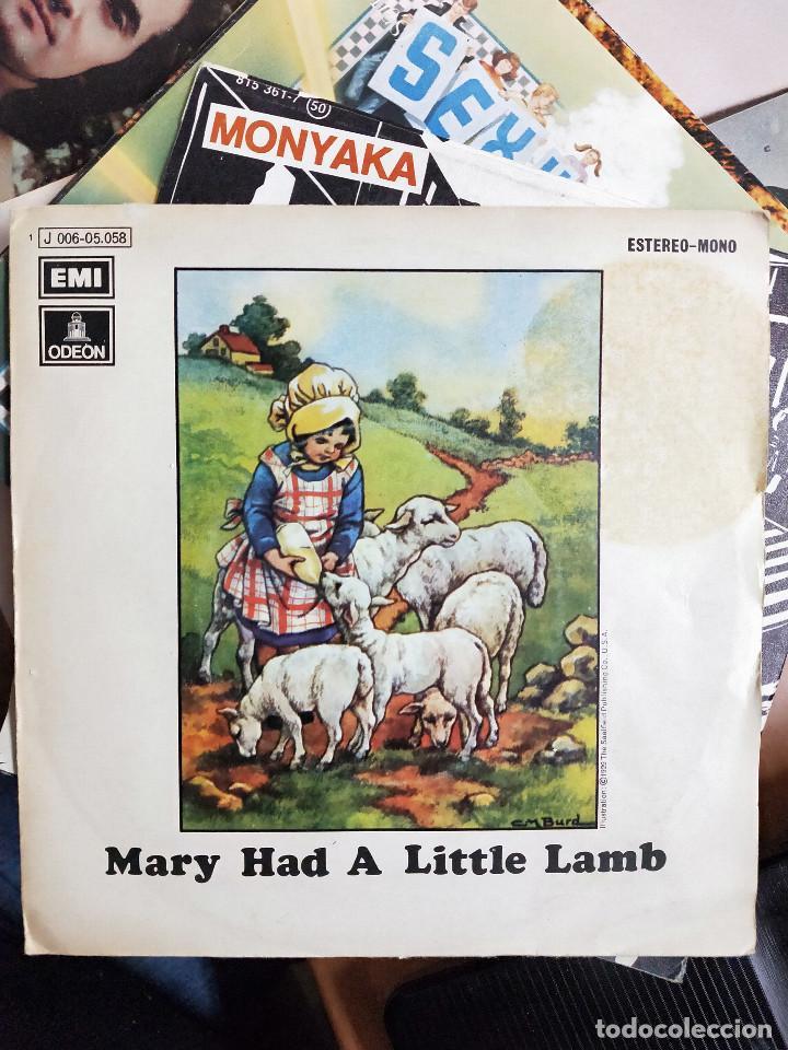 WINGS – MARY HAD A LITTLE LAMB. ODEON – 1 J 006-05.058.PROMOCIONAL. VINILO COMO NUEVO(MINT) (Música - Discos - LP Vinilo - Pop - Rock - Extranjero de los 70)
