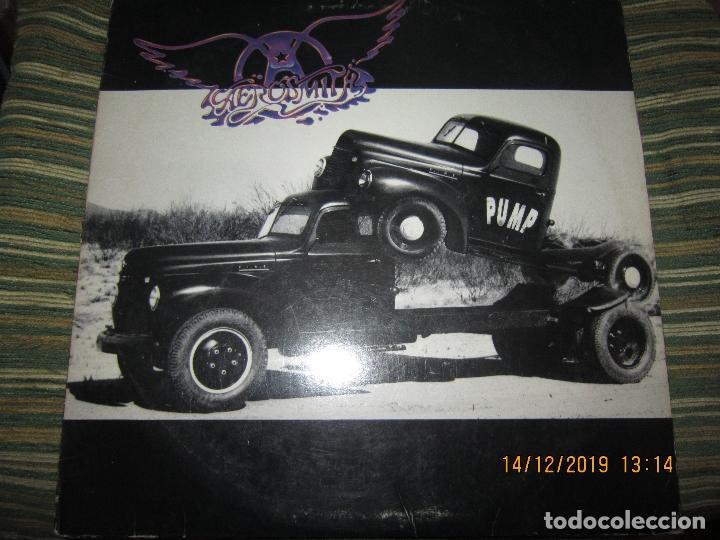 AEROSMITH - PUMP LP - ORIGINAL U.S.A. - GEFFEN RECORDS 1989 - STEREO - GHS 24254 - (Música - Discos - LP Vinilo - Pop - Rock - Extranjero de los 70)