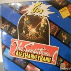 Discos de vinilo: THE SENSATIONAL ALEX HARVEY BAND - LIVE. Lote 187454167