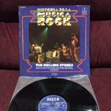 Discos de vinilo: THE ROLLING STONES - THE ROLLING STONES LP, REEDICIÓN, RECOPILATORIO, 1981, ESPAÑA. Lote 187455380