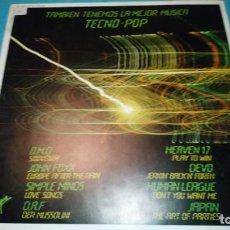 Discos de vinilo: TECNO POP LP ARIOLA. Lote 187464653