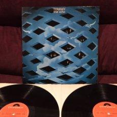 Discos de vinilo: THE WHO - TOMMY, LP DOBLE GATEFOLD, REEDICIÓN, 1975, ESPAÑA. Lote 187464965