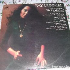 Discos de vinilo: LP RAY CONNIFF - LOVE THEME FROM THE GODFATHER / EL PADRINO. Lote 187465751