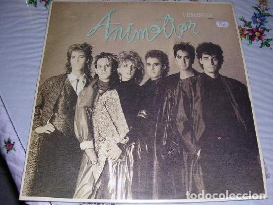 ANIMOTION I ENGINEER 1986 (Música - Discos - LP Vinilo - Pop - Rock - Extranjero de los 70)