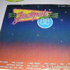 Discos de vinilo: LP JACKOPT 88 28 SUPER TOPS. Lote 187465893