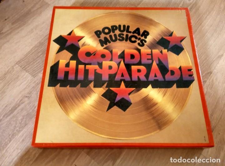 POPULAR MUSIC'S (GOLDEN HIT PARADE) VARIOS DE 1956 A 1973 CAJA CON OCHO LP33 (Música - Discos - LP Vinilo - Pop - Rock - Extranjero de los 70)